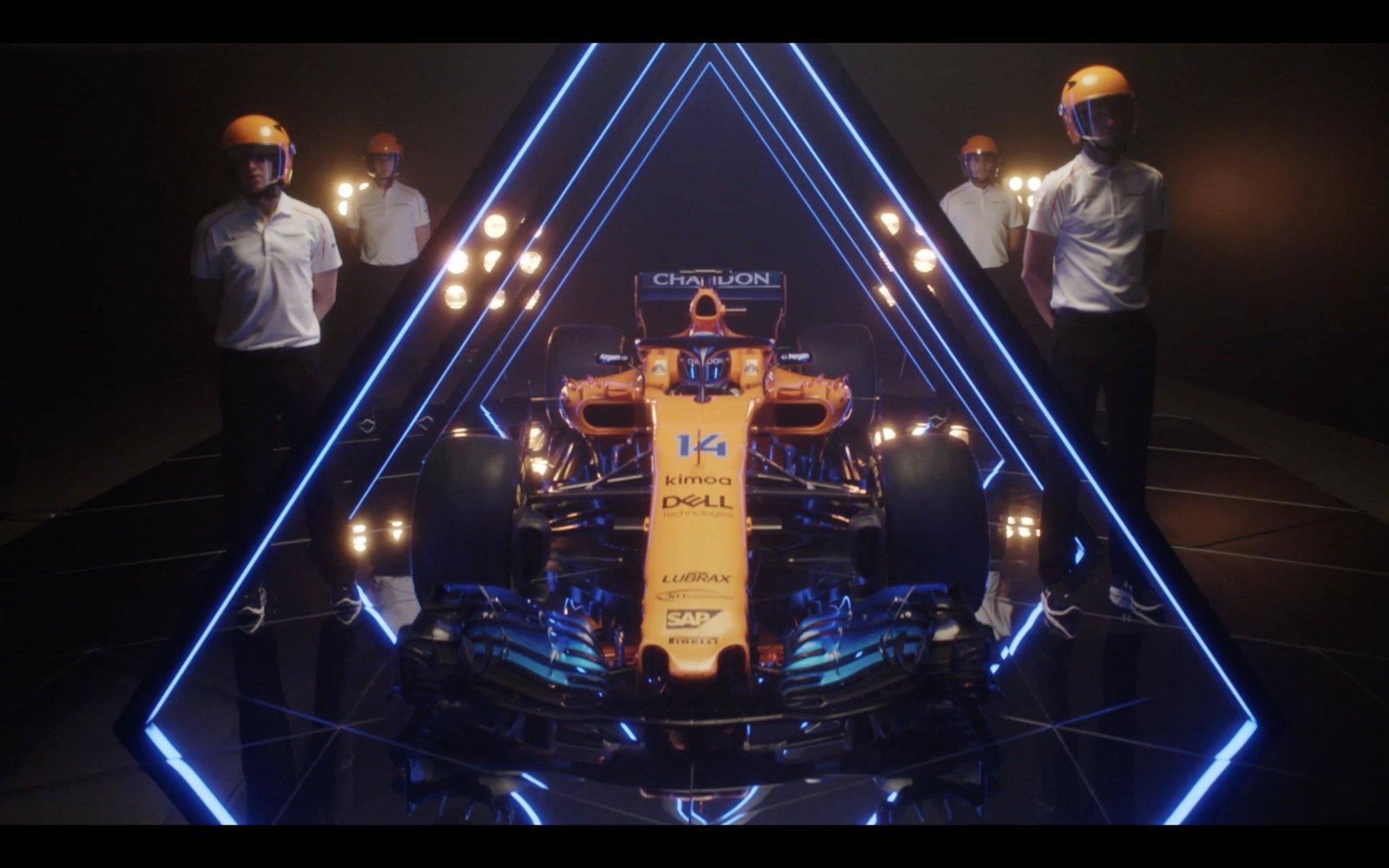 McLaren 2018 F1 Car